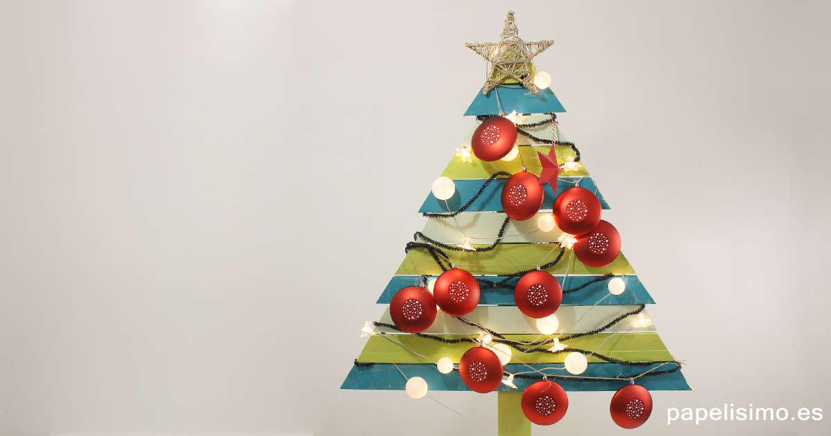 árbol De Navidad Con Palets Reciclados Mi Hogar Mejor