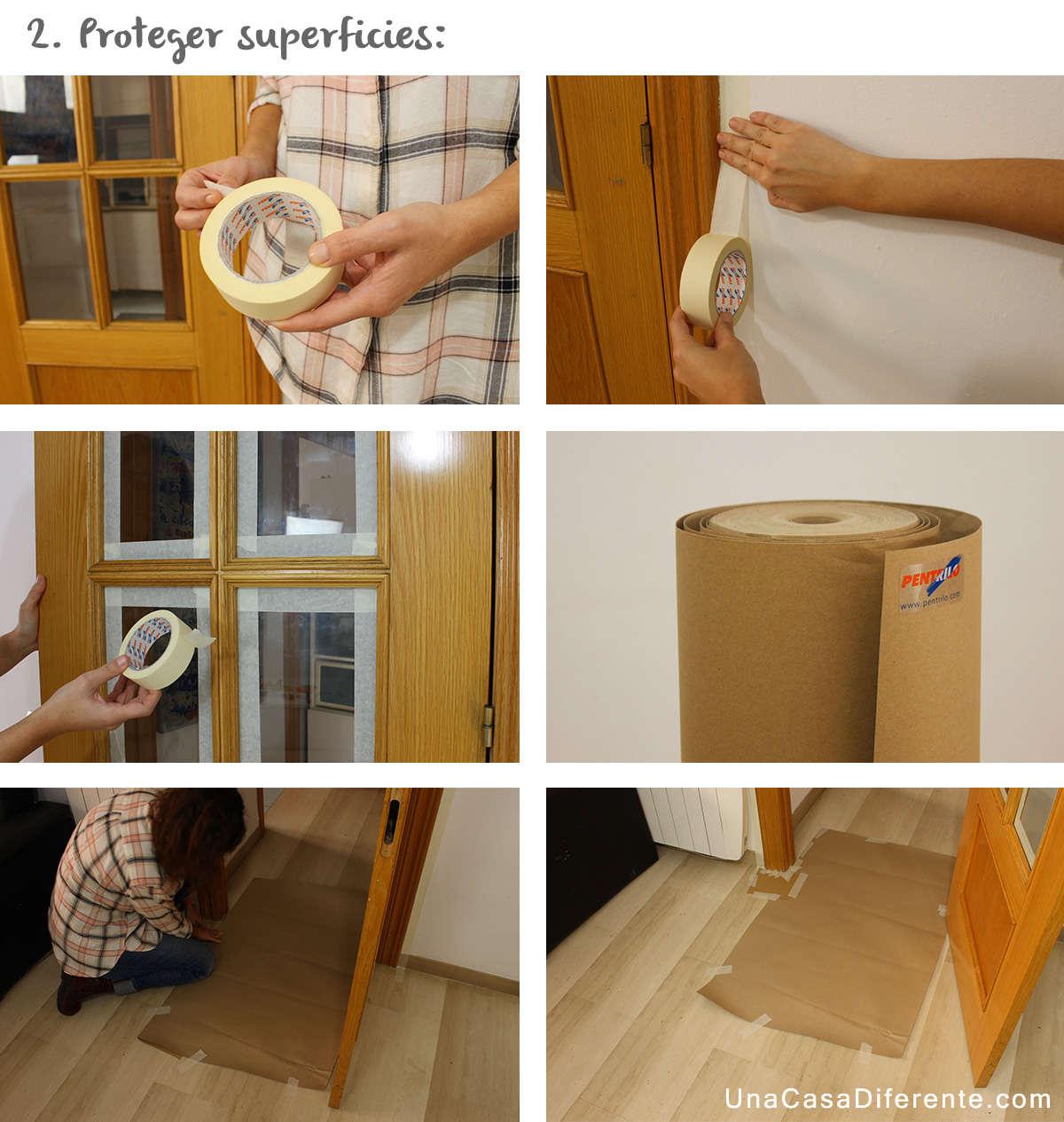 Renovar las puertas de casa mi hogar mejor - Pintar puertas de casa ...