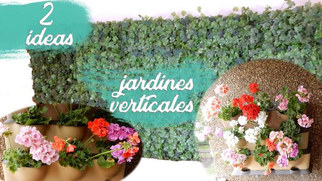 2 ideas de jardines verticales Mi Hogar Mejor