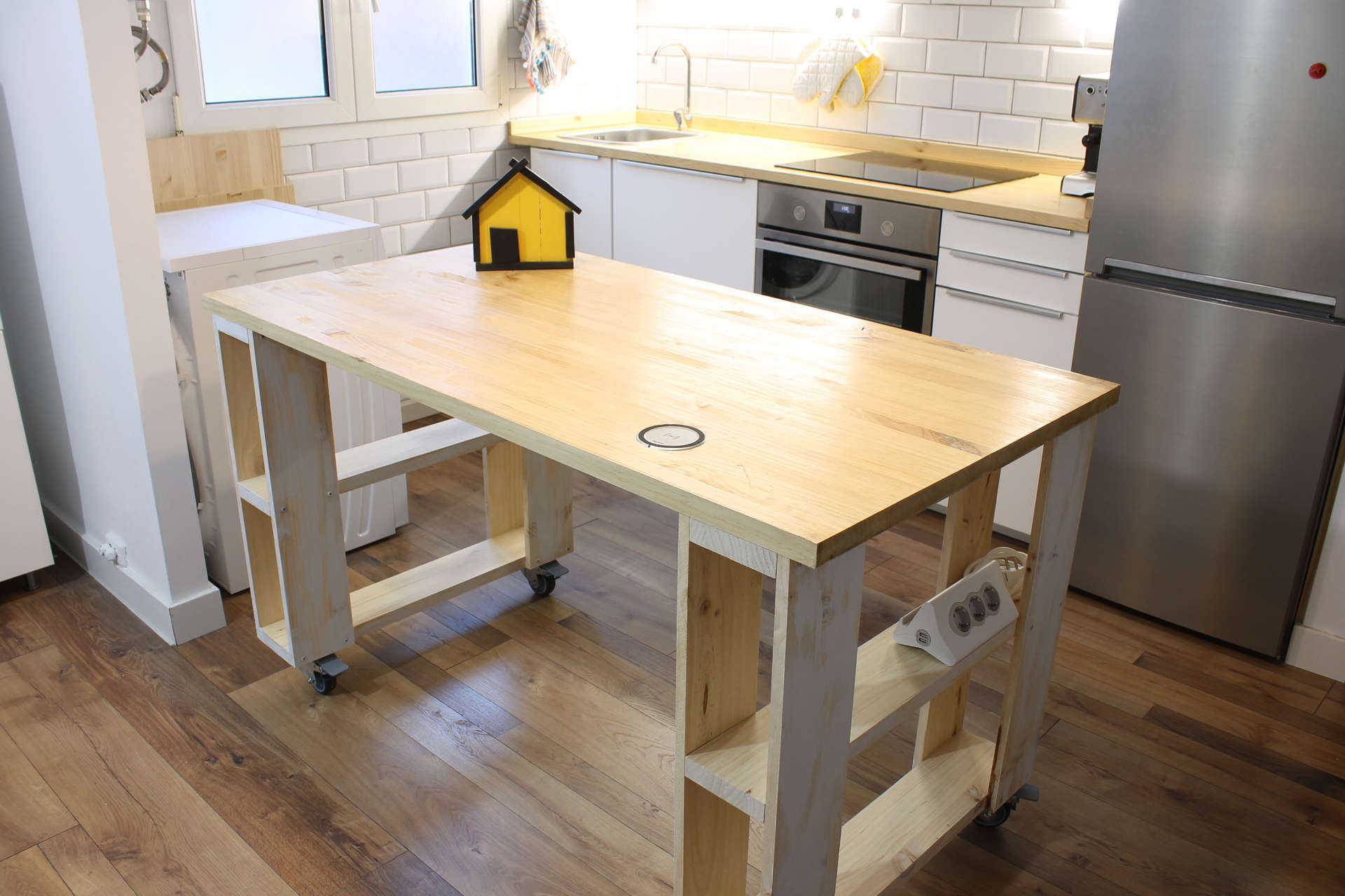 Isla de cocina paso a paso mi hogar mejor - Islas de cocina moviles ...