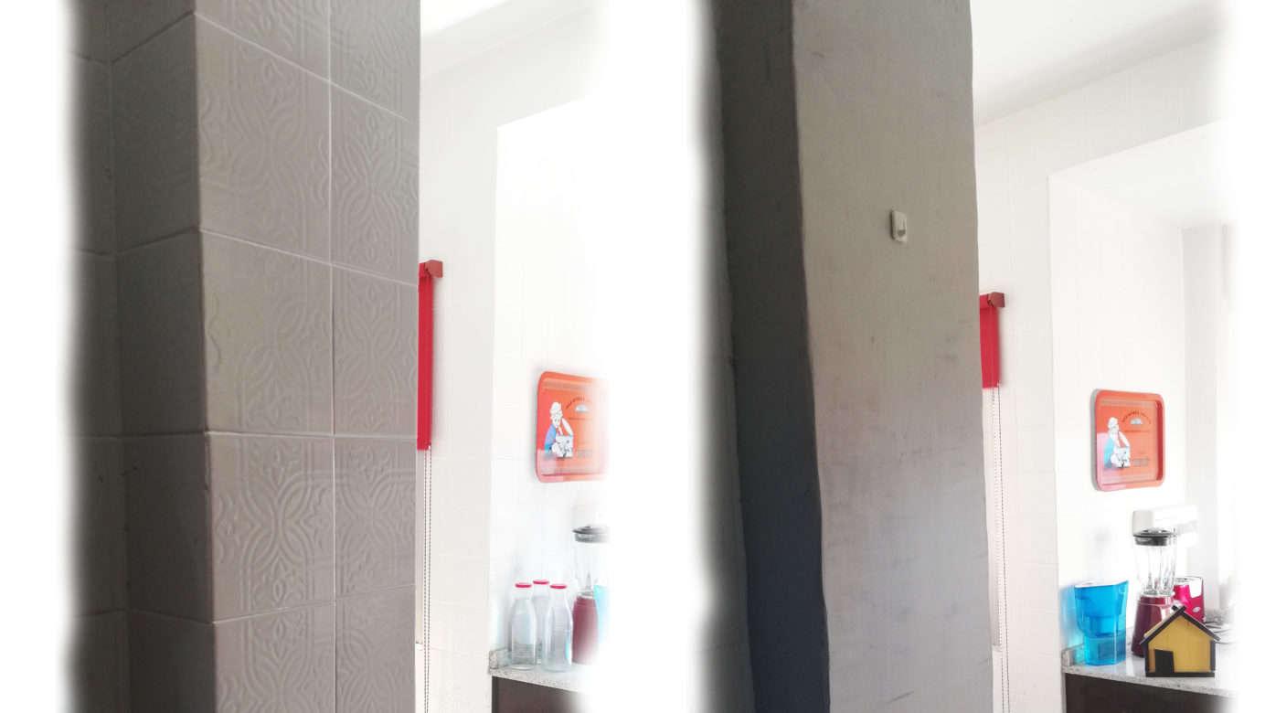 C mo tapar azulejos sin obras mi hogar mejor - Cubrir azulejos sin obra ...